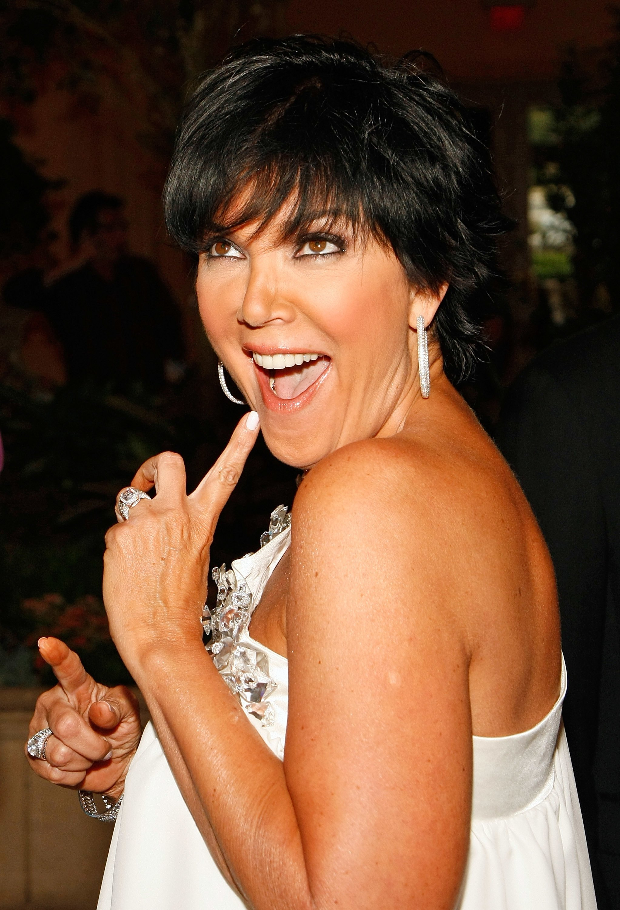 "Kris Jenner at the Simon G. Jewelry ""Spring Bling"" event benefiting the Lili Claire Foundation in 2009 