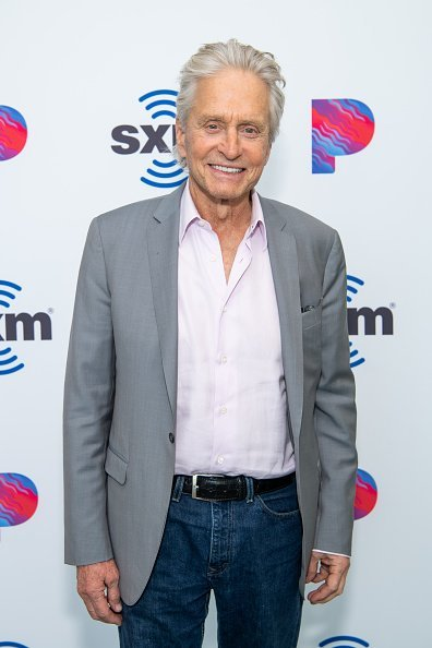 Michael Douglas at SiriusXM Studios on October 08, 2019 in Los Angeles | Photo: Getty Images