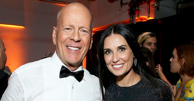 Demi Moore Talks Candidly about Spending Time with Her Ex-husband Bruce Willis Amid Quarantine