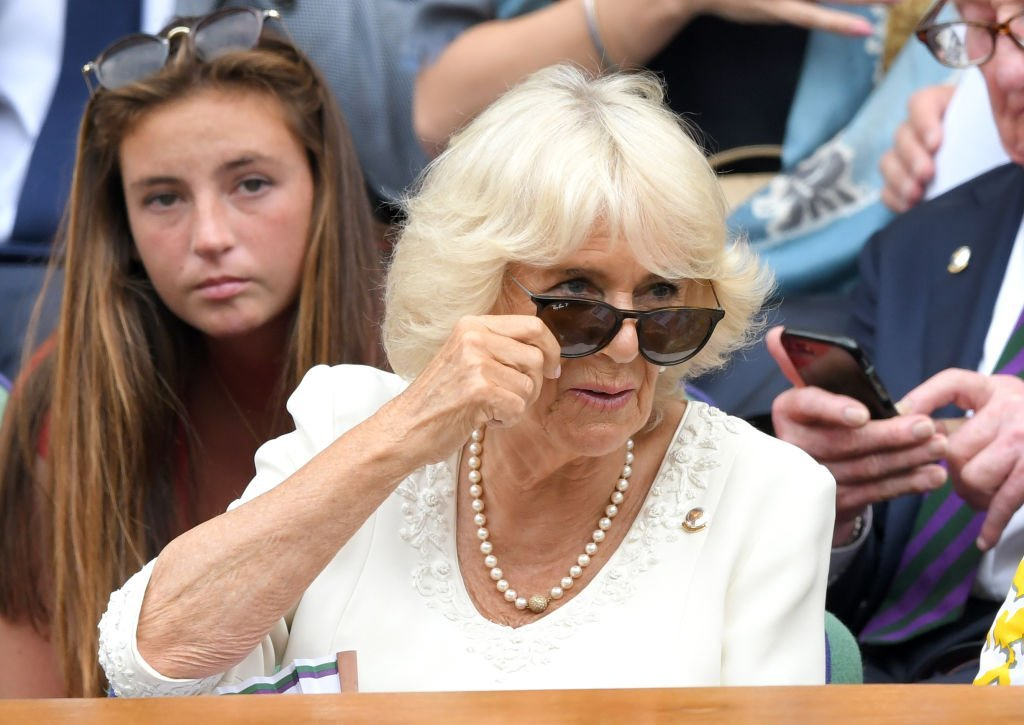 Camilla, Duchess of Cornwall attends day nine of the Wimbledon Tennis Championships at All England Lawn Tennis and Croquet Club | Photo: Getty Images