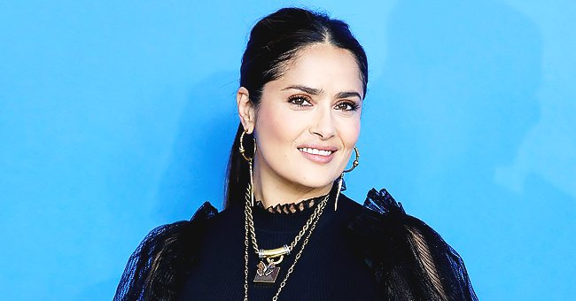 'Frida' Actress Salma Hayek Looks Stunning Makeup-Free in This Selfie She Posted on Instagram
