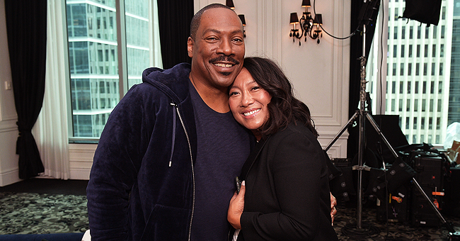 Eddie Murphy Reunites with 'Golden Child' Co-Star Jasmin L. Reate 3 Decades Later at TIFF