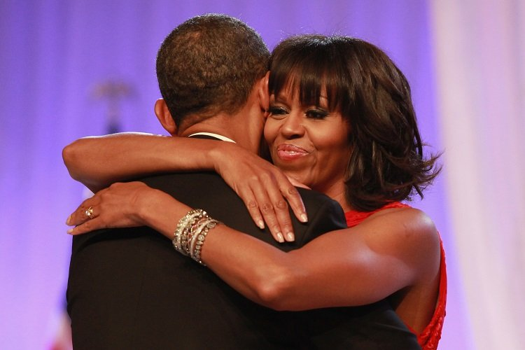 Barack Obama and First Lady Michelle Obama on January 21, 2013 in Washington | Photo: Getty Images