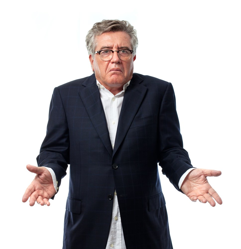A senior man who is confused. | Photo: Shutterstock