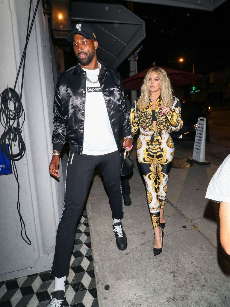 Khloe Kardashian and Tristan Thompson are seen on August 17, 2018 | Photo: Getty Image