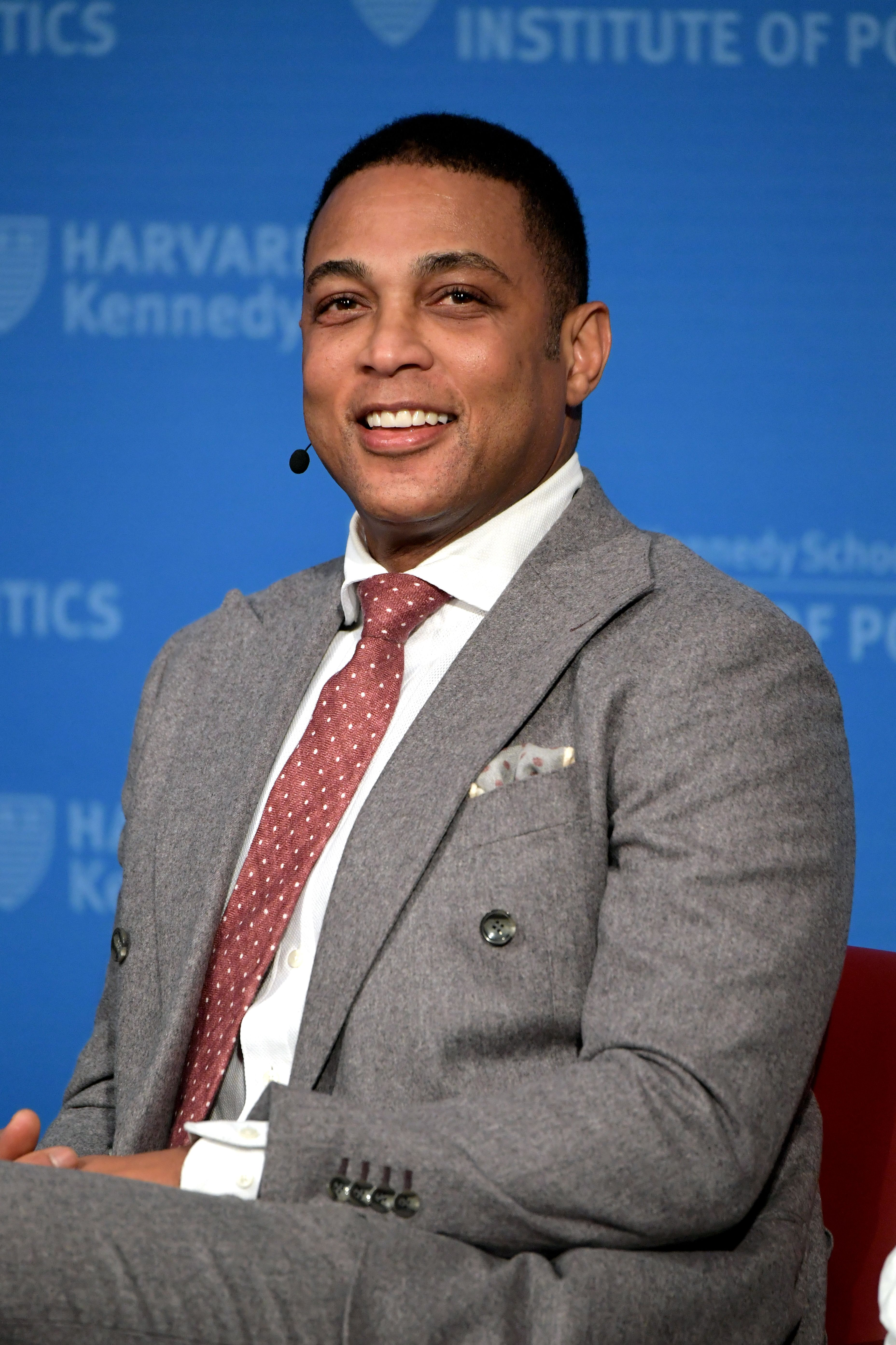 Don Lemon speaks at Harvard University Kennedy School of Government Institute of Politics on February 22, 2019 in Cambridge, Massachusetts. | Source: Getty Images