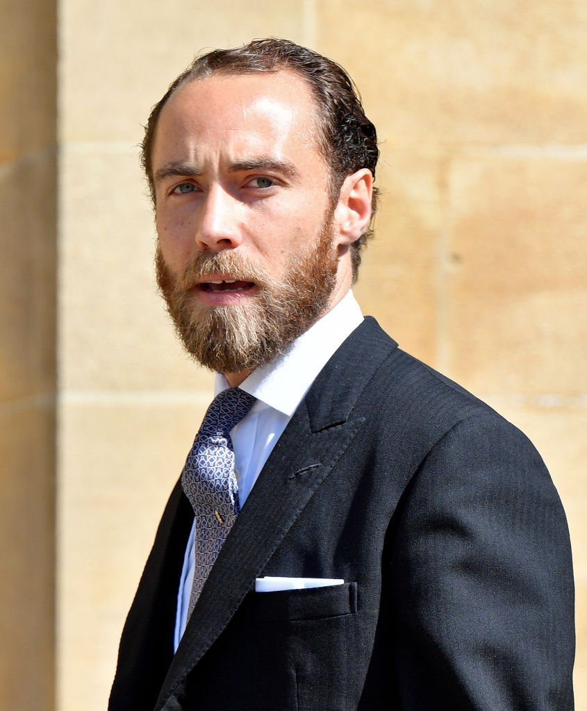 James Middleton attends the wedding of Prince Harry to Ms Meghan Markle at St George's Chapel, Windsor Castle | Photo: Getty Images