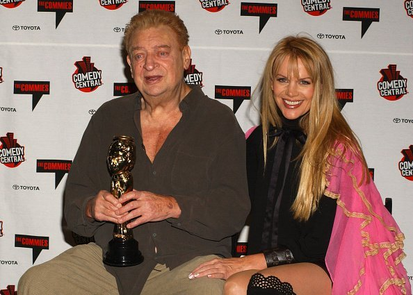 Rodney Dangerfield and Joan Child during Comedy Central's First Annual Commie Awards | Photo: Getty Images