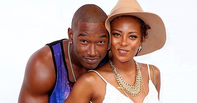 Eva Marcille and ex Kevin McCall during a photoshoot | Source: Getty Images/GlobalImagesUkraine