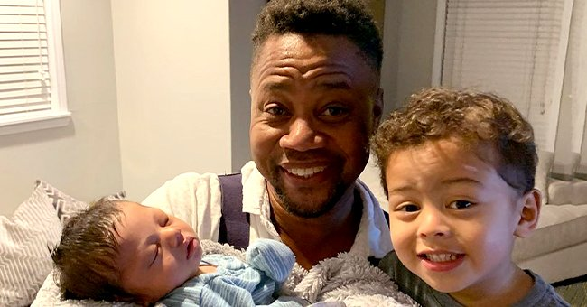 Omar Gooding of 'Hangin' with Mr Cooper' Fame Shares Sweet Photo of His Newborn Baby in Brother Cuba Jr's Arms
