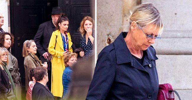 """Funérailles d'Ariane Carletti : sa fille étonnée par la foule à la cérémonie, """"pleine d'amour"""""""