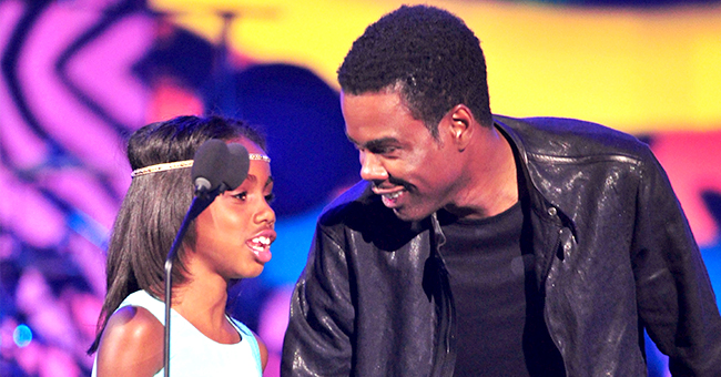 Chris Rock's Daughter Zahra Turns 15 & She's a 'Pretty Version' of the Actor