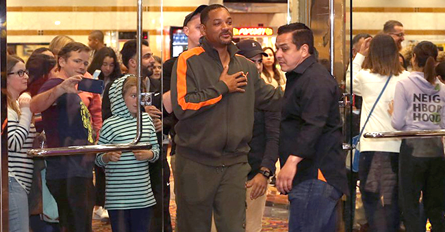 Will Smith Surprises Fans after He Sneaks into Calabasas Screening of 'Aladdin'