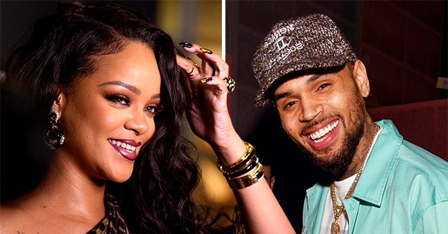 Rihanna Plays Ex Chris Brown's Song with HER 'Come Together' in Fenty Beauty Promo Video Following His Flirty Comments