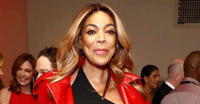 Wendy Williams Flaunts Slim Figure in Red Dress After Kevin Hunter Split (Photo)