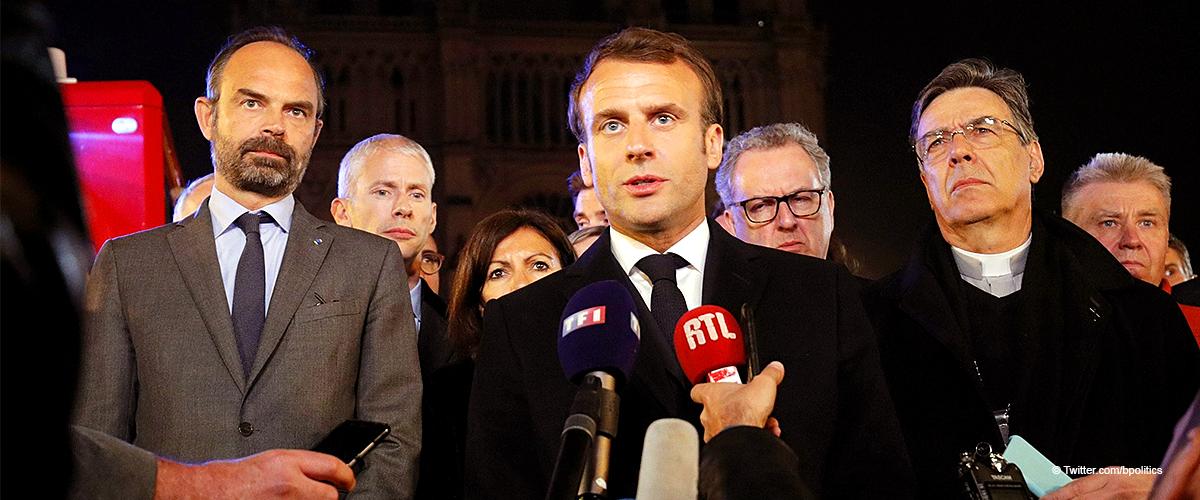 La promesse ferme de Macron après l'incendie de Notre-Dame de Paris