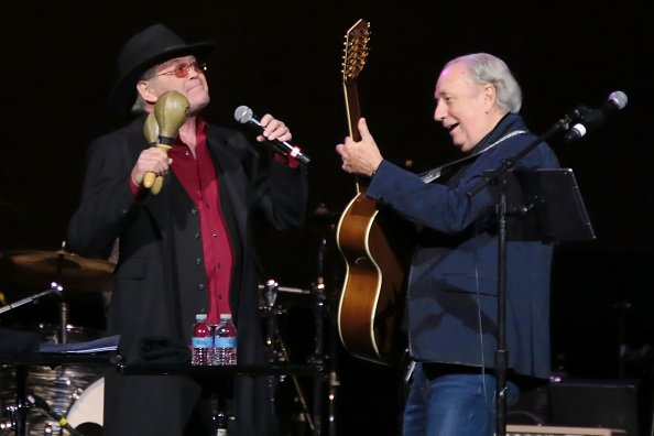 Mickey Dolenz and Michael Nesmith at Ocean Resort Casino on March 2, 2019 in Atlantic City, New Jersey. | Photo: Getty Images