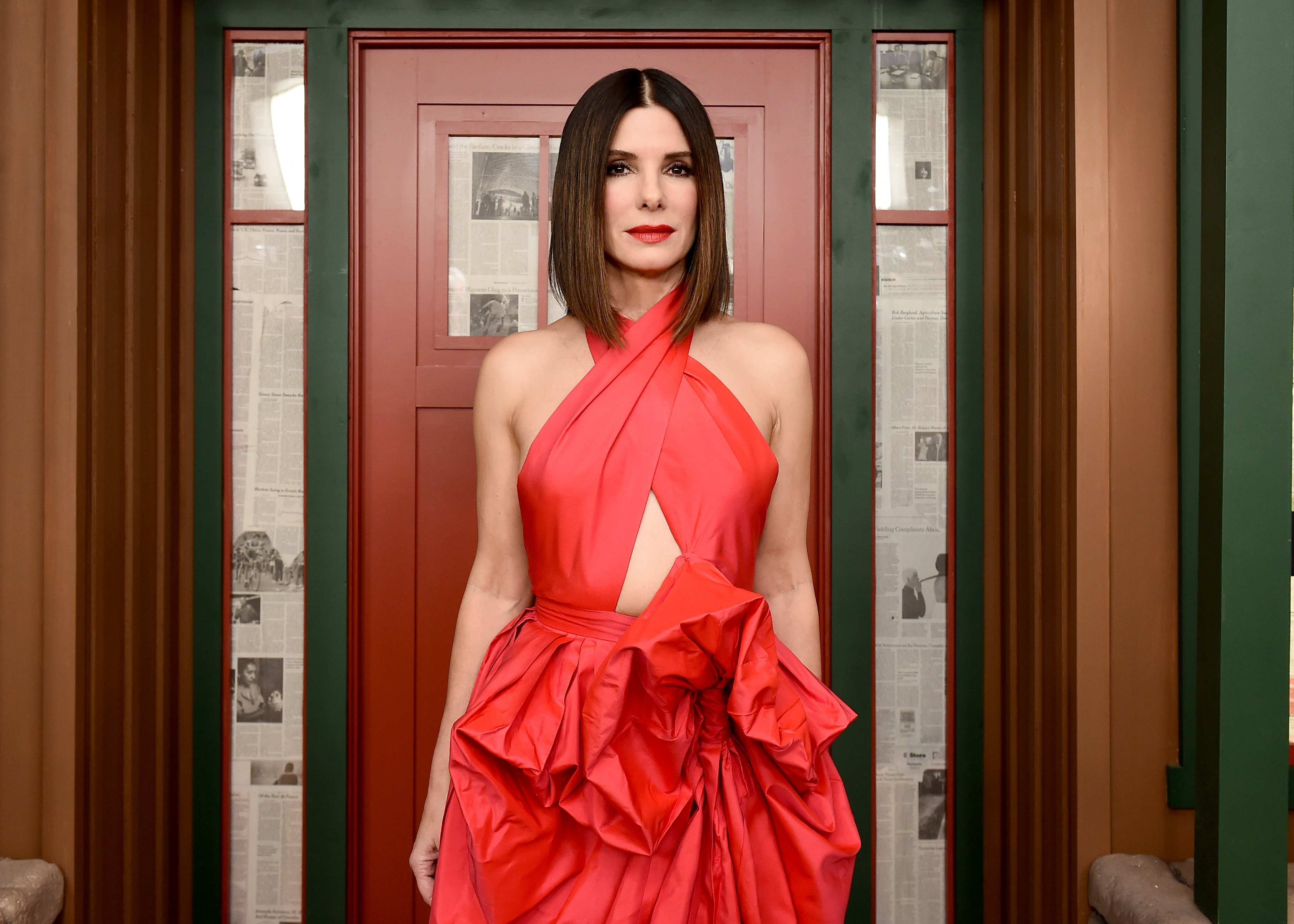 "Sandra Bullock at the premier of a Special Screening of ""Bird Box"" in New York, December 2018 