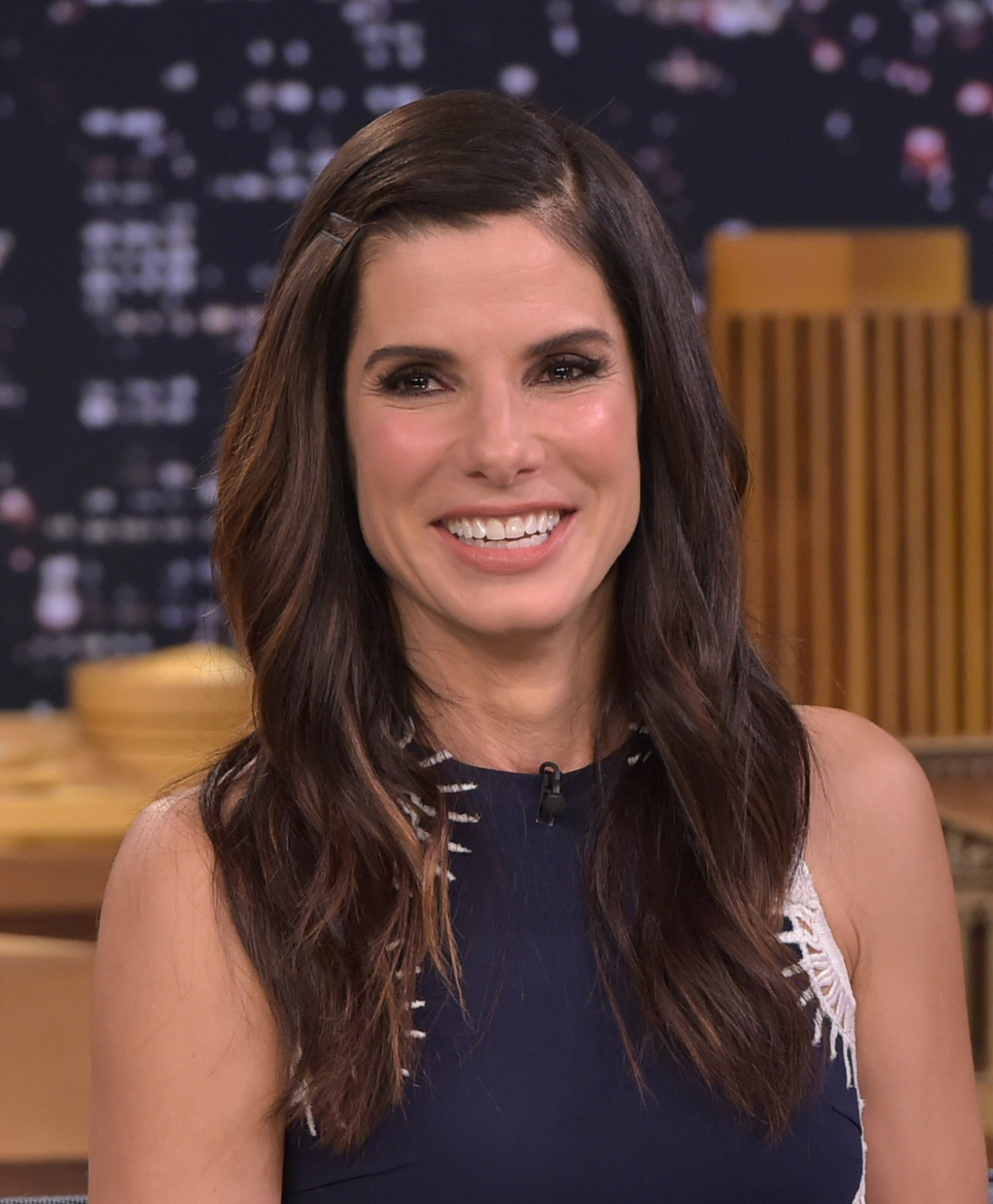 Sandra Bullock im Interview - Quelle: Getty Images