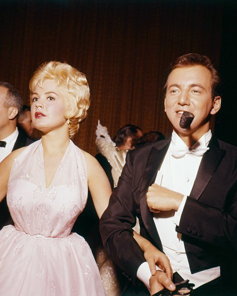 Sandra Dee and Bobby Darin at the 33rd Academy Awards, Santa Monica, California, in 1961   Photo: Getty Images