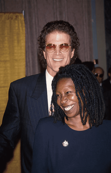 Whoopi Goldberg and Ted Danson at Friars Club Roasts, circa 1993 in New York City. | Source: Getty Images