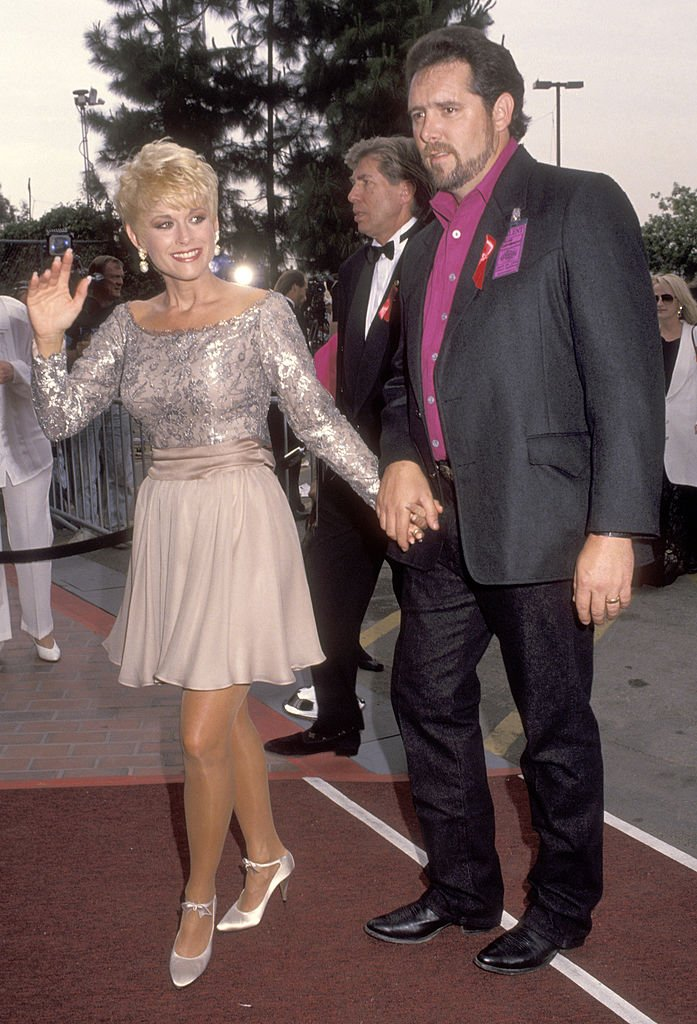 Lorrie Morgan and Brad Thompson at the 27th Annual Academy of Country Music Awards, 1992 | Source: Getty Images