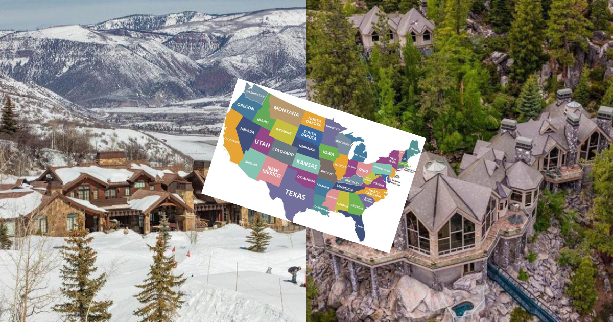 The Most Expensive Homes In All 50 States