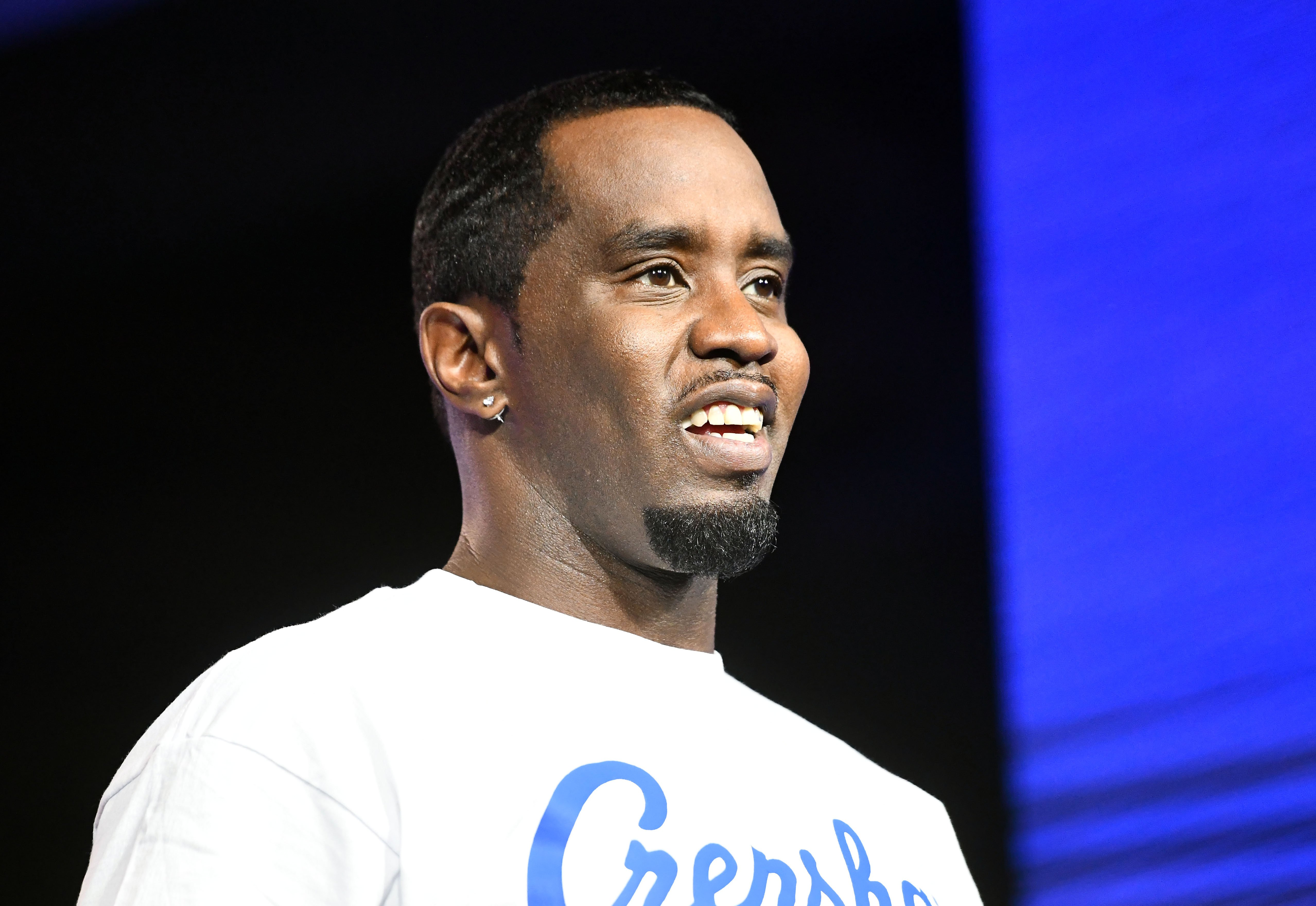 """Sean """"Diddy"""" Combs speaks onstage at the REVOLT X AT&T 3-Day Summit In Los Angeles - Day 1 at Magic Box on October 25, 2019 in Los Angeles, California 