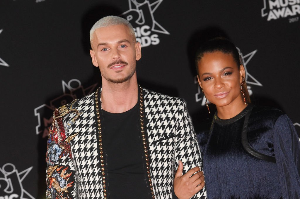 Pokora and Christina Milian attend the 19th NRJ Music Awards in cannes on November 4, 2017. | Photo: Getty Images