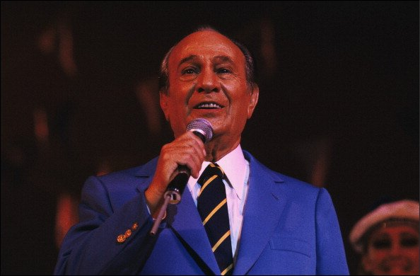Soirée Tino Rossi à Paris, France le 10 novembre 1982 - Tino Rossi. | Photo : Getty Images