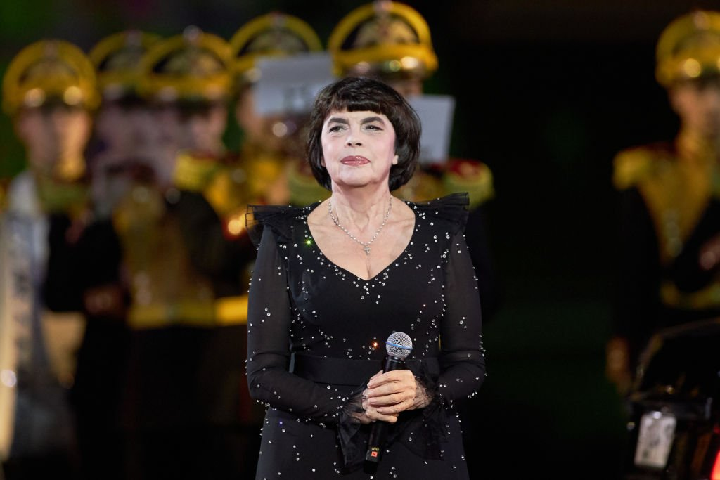 Mireille Mathieu, le 30 août 2019. | Photo : Getty Images