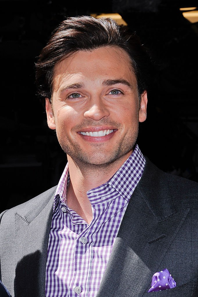 """Tom Welling leaves the """"Live With Regis And Kelly"""" taping at the ABC Lincoln Center Studios on May 6, 2011 in New York City 