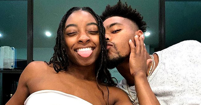 Simone Biles and NFL Player Boyfriend Jonathan Owens Get Cozy in New Instagram Pictures