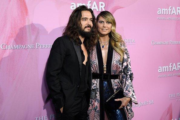 Heidi Klum und Tom Kaulitz, Amfar Gala, 2019 | Quelle: Getty Images