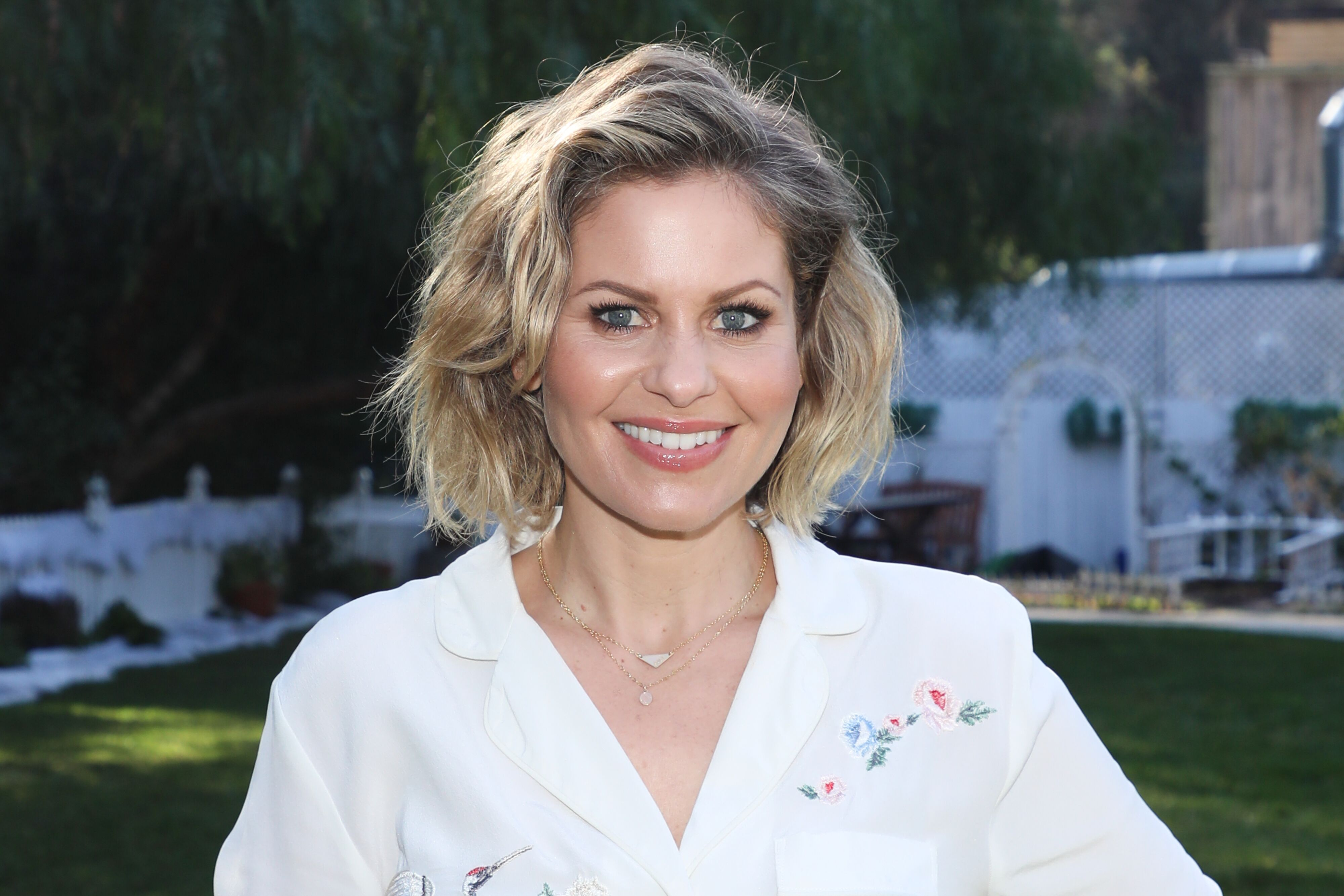 "Candace Cameron Bure at Hallmark's ""Home & Family."" 