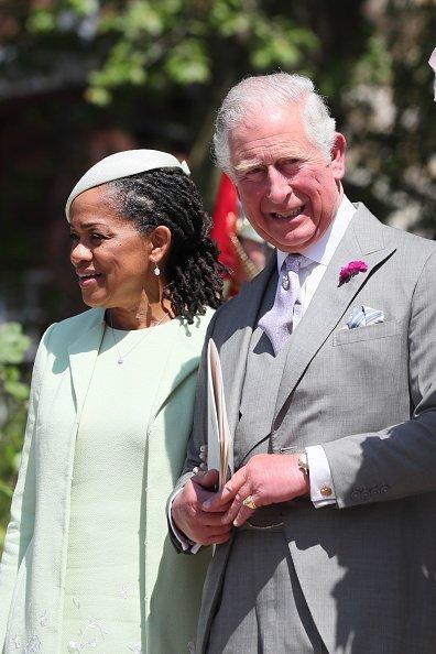 Doria Ragland, Prinz Charles, Meghans Hochzeit 2018 | Quelle: Getty Images