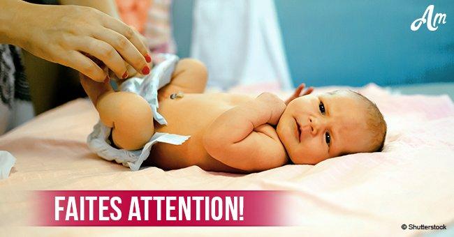Près de 60 substances chimiques potentiellement dangereuses sont trouvées dans 23 marques de couches pour bébés