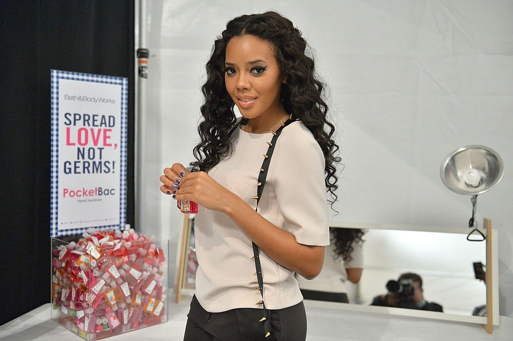 Angela Simmons attends Bath & Body Works And Angela Simmons At Mercedes-Benz Fashion Week Fall 2013 at Lincoln Center | Photo: Getty Images