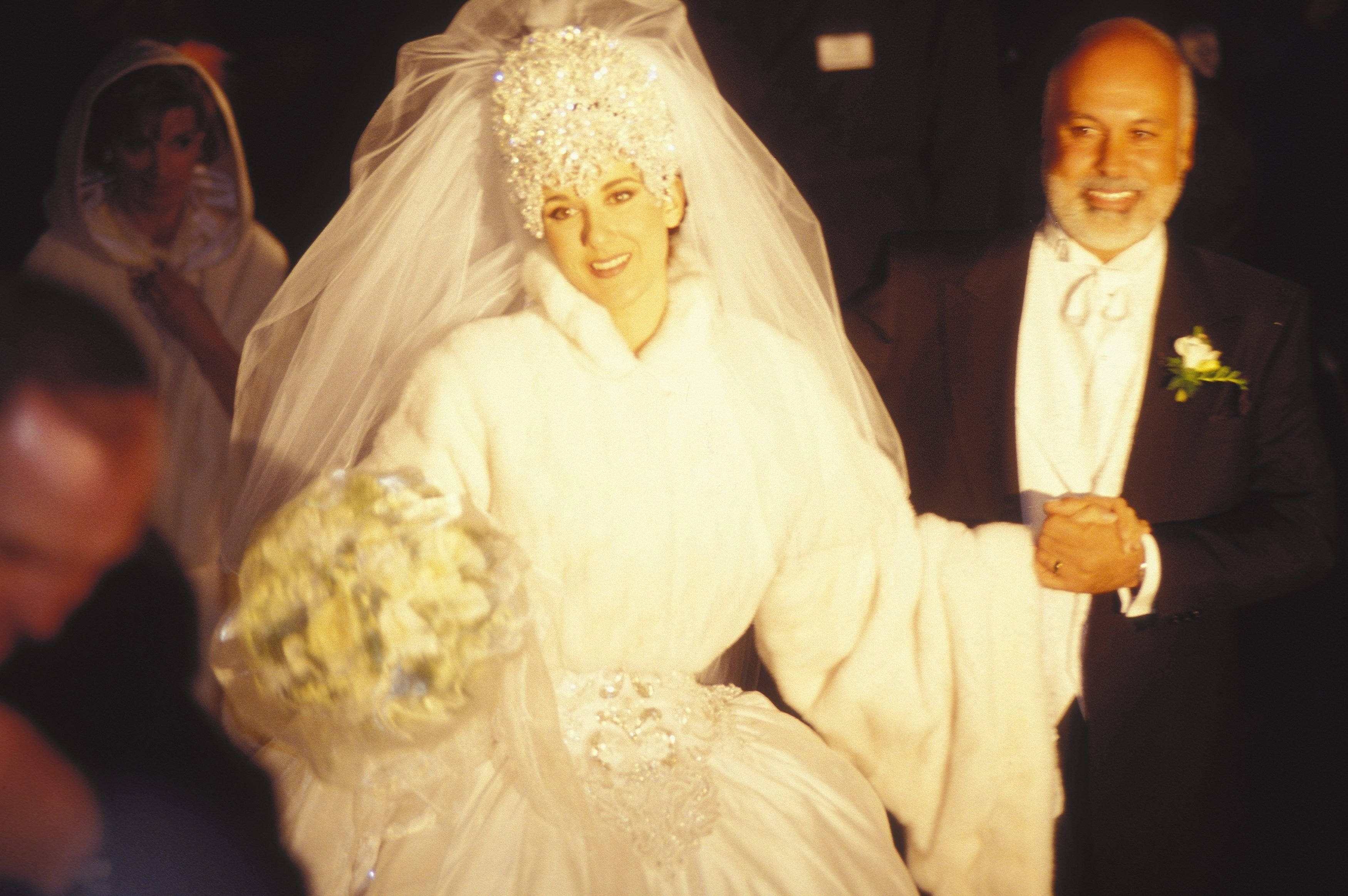 Celine Dion's wedding in Montreal, Canada on December 15, 1994 | Source: Getty Images