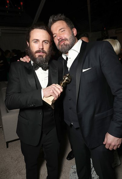 Casey Affleck and Ben Affleck at The Beverly Hilton Hotel on January 8, 2017 in Beverly Hills, California | Photo: Getty Images