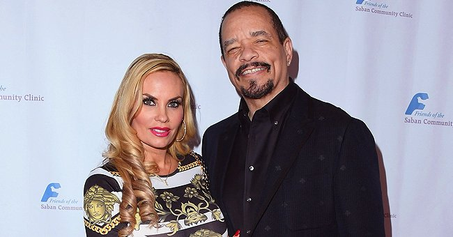 Ice-T's Wife Coco Austin Shows Tiny Waist and Curves in Top and Pants (Photos)