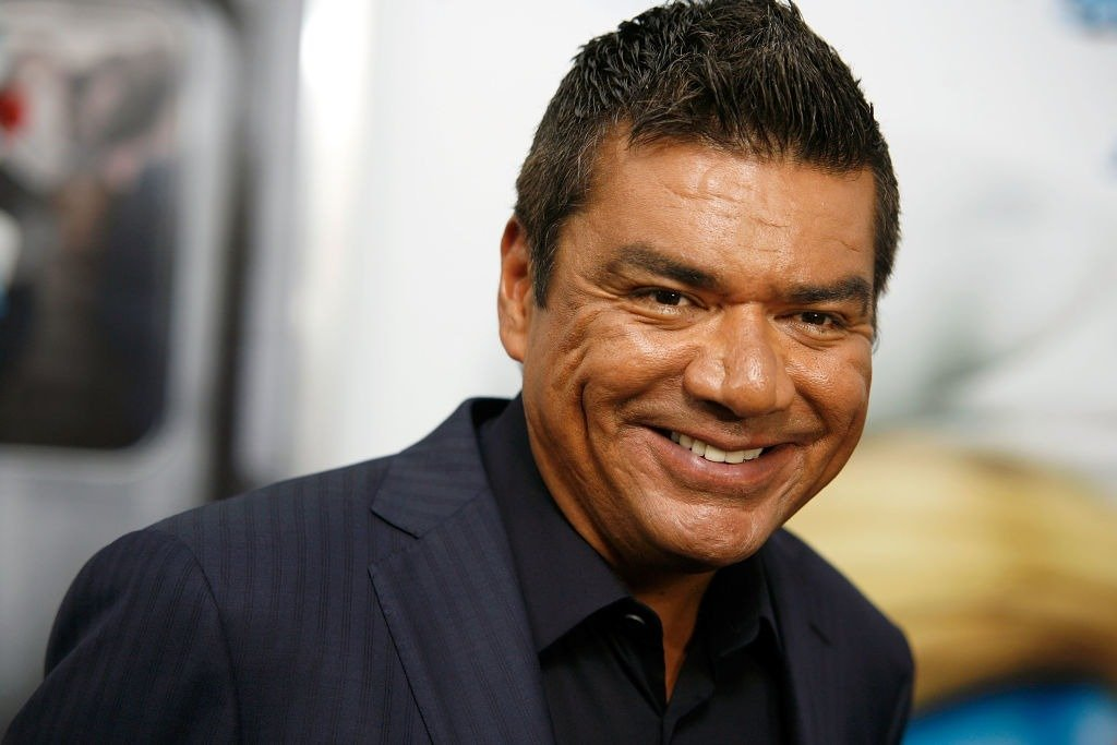 """George Lopez attends the premiere of """"The Smurfs"""" at the Ziegfeld Theater on July 24, 2011 in New York City.   Photo: Getty Images"""