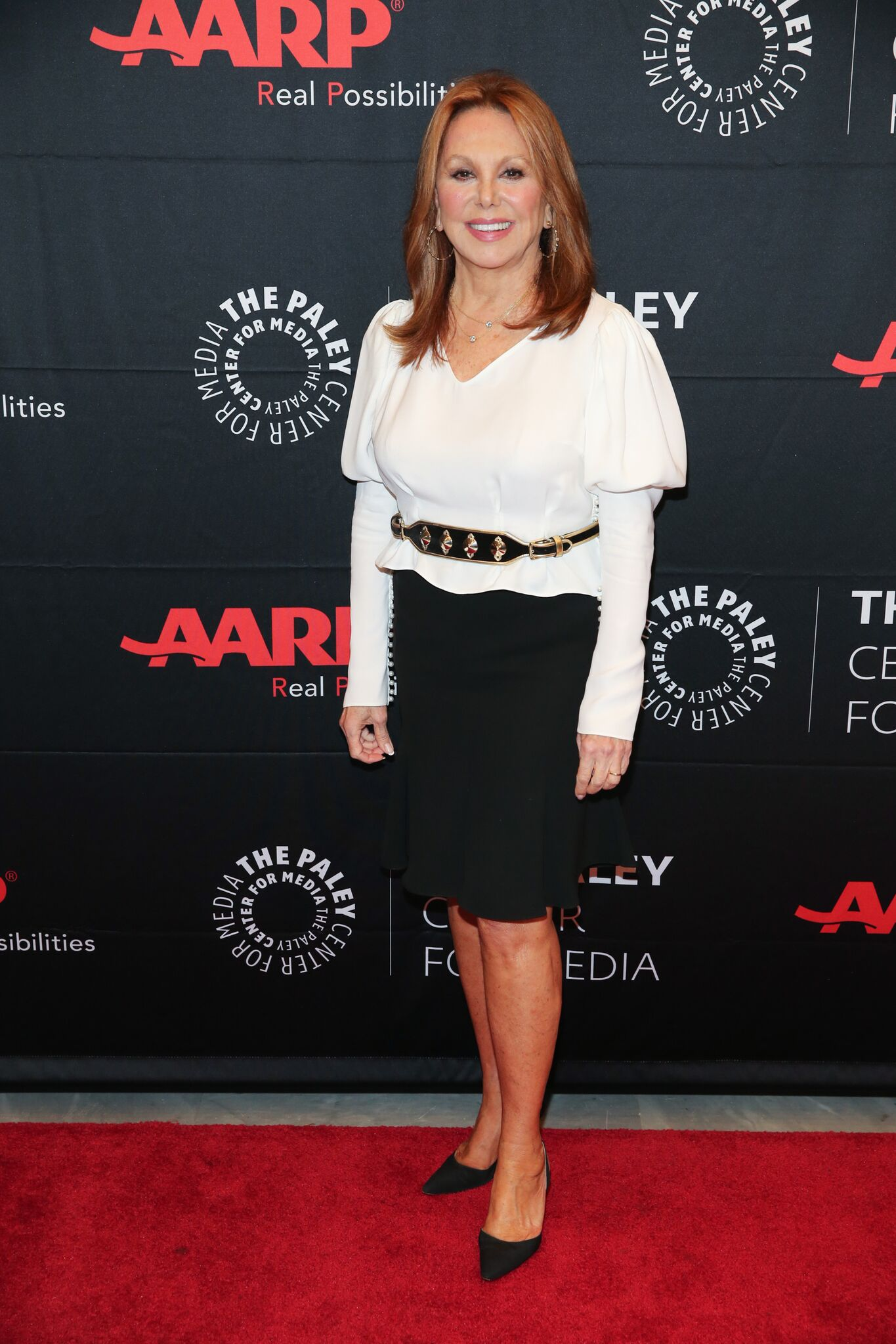 "Marlo Thomas attends ""The Paley Center For Media Presents: Better Than Ever: Actresses Are Fighting Ageism - And Winning"" at The Paley Center for Media 