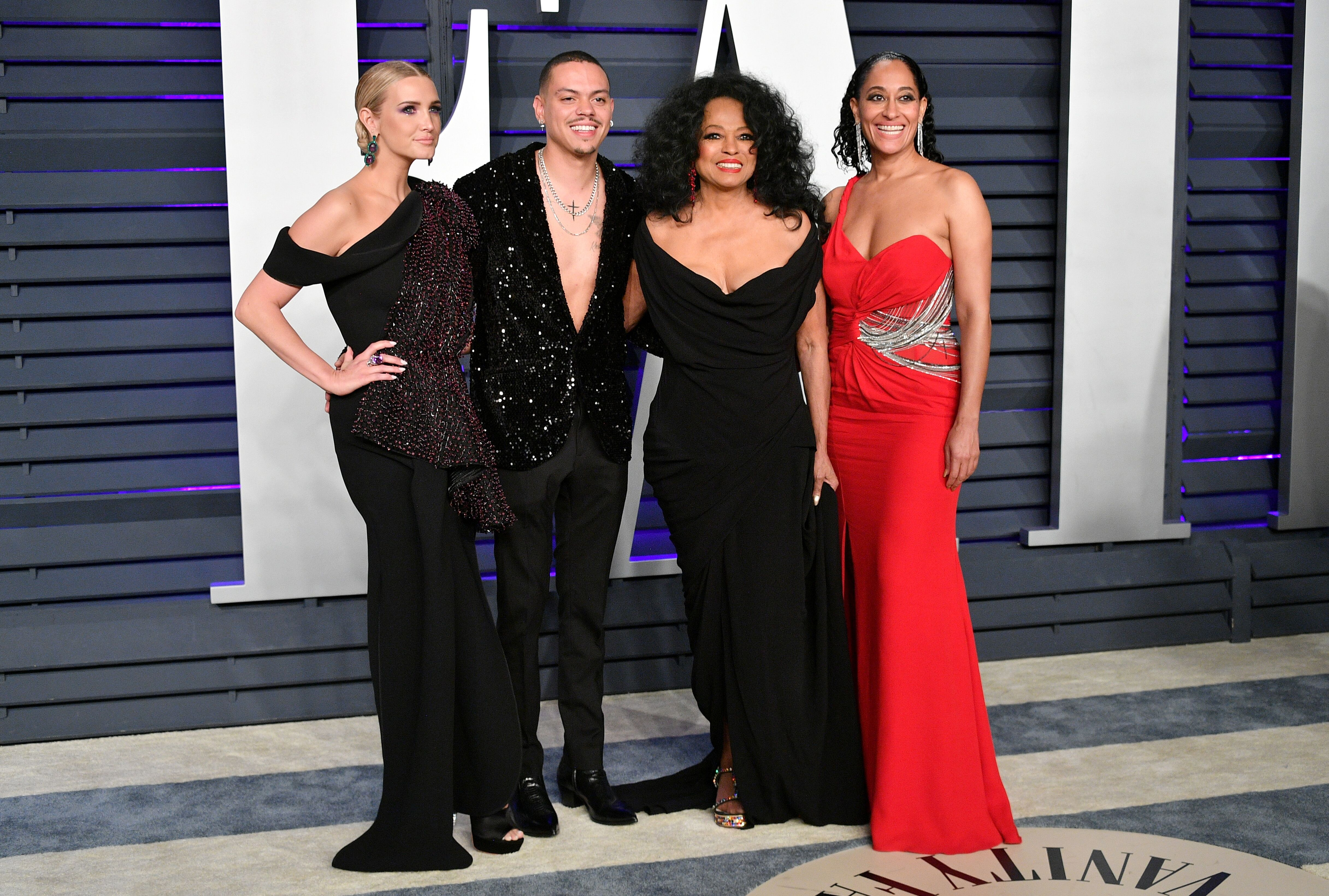 Diana Ross and her children attend a Vanity Fair event   Source: Getty Images/GlobalImagesUkraine