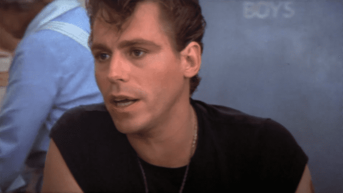 """Jeff Conaway als Kenickie in """"Grease"""" 1978   Quelle: YouTube/Movieclips Classic-Trailer"""