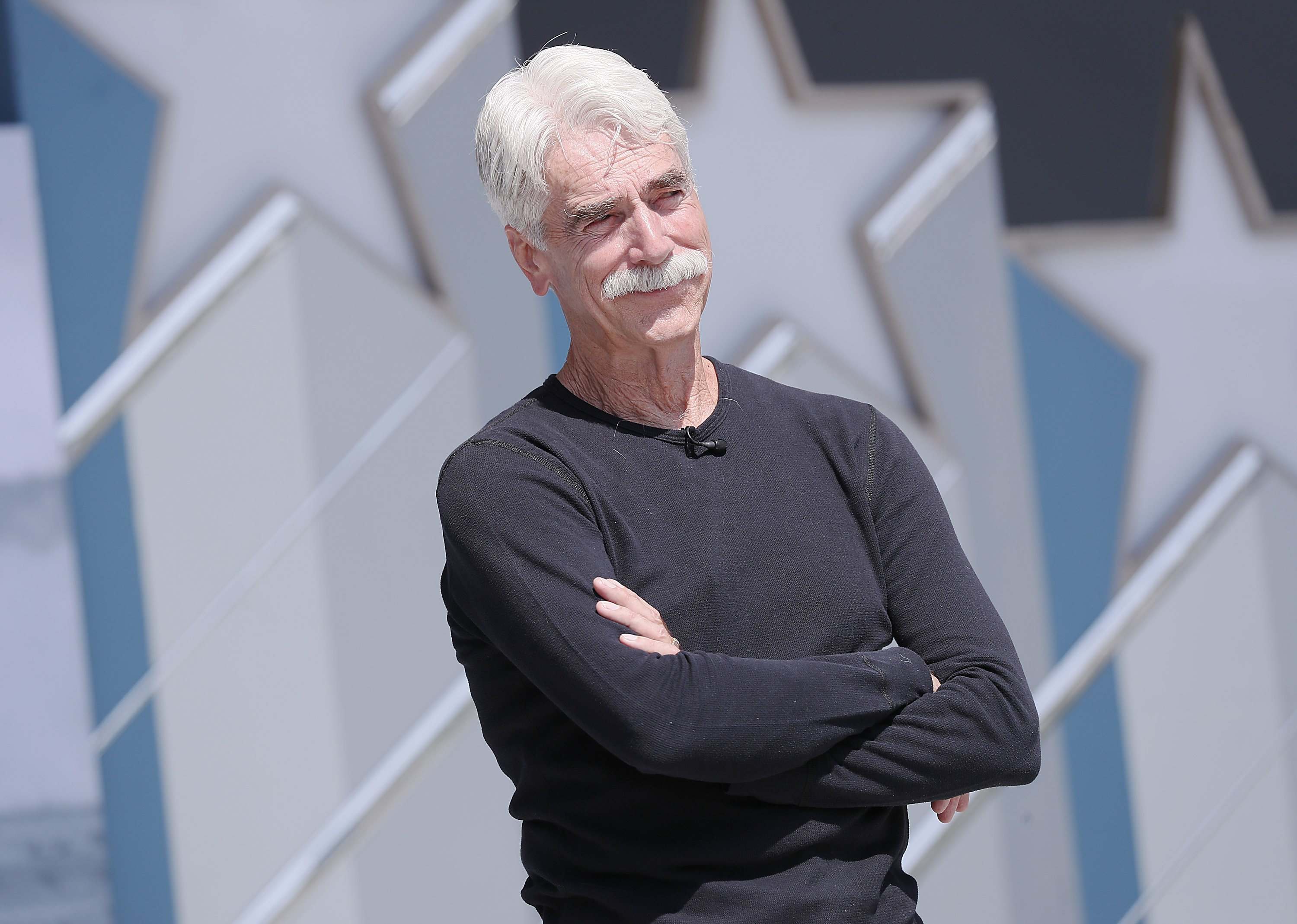 Sam Elliott  at the 2019 National Memorial Day Concert - Rehearsals  on May 25, 2019 | Photo: GettyImages