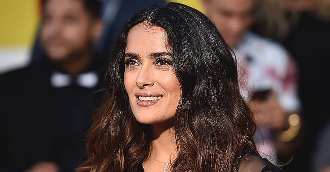 Salma Hayek Shows off Energetic Dance in a Face Mask during Road Trip Amid COVID-19 Pandemic
