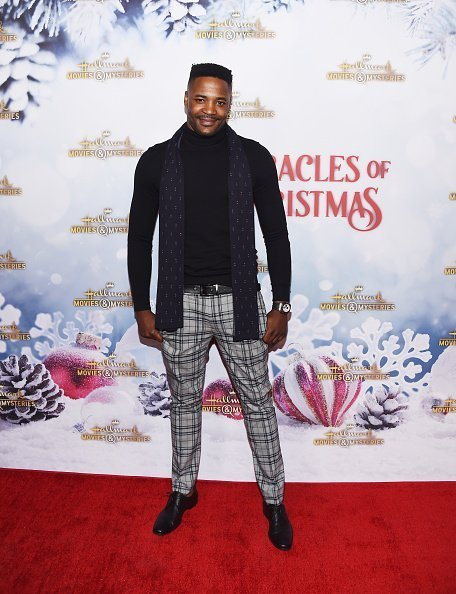 """Duane Henry arrives at the Hallmark Channel """"Once Upon A Christmas Miracle"""" screening and holiday party on December 4, 2018 