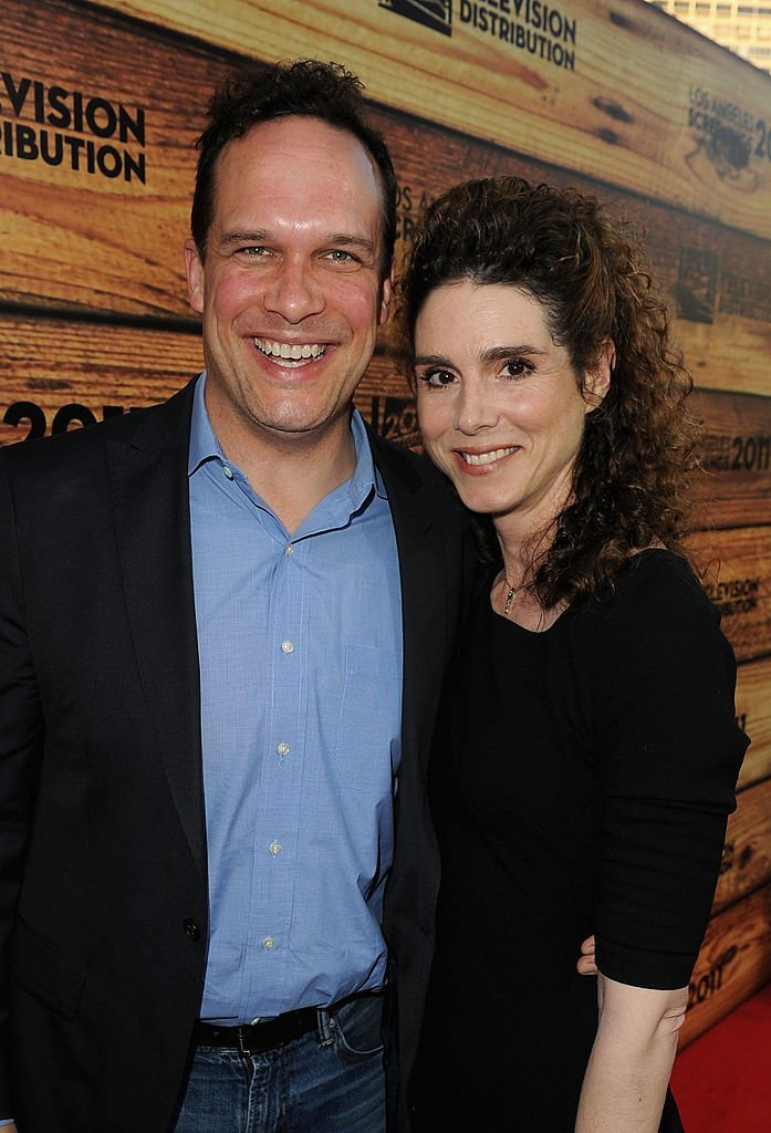 Diedrich Bader and wife Dulcy Rogers attend a star-studded party hosted by Twentieth Century Fox Television Distribution | Getty Images