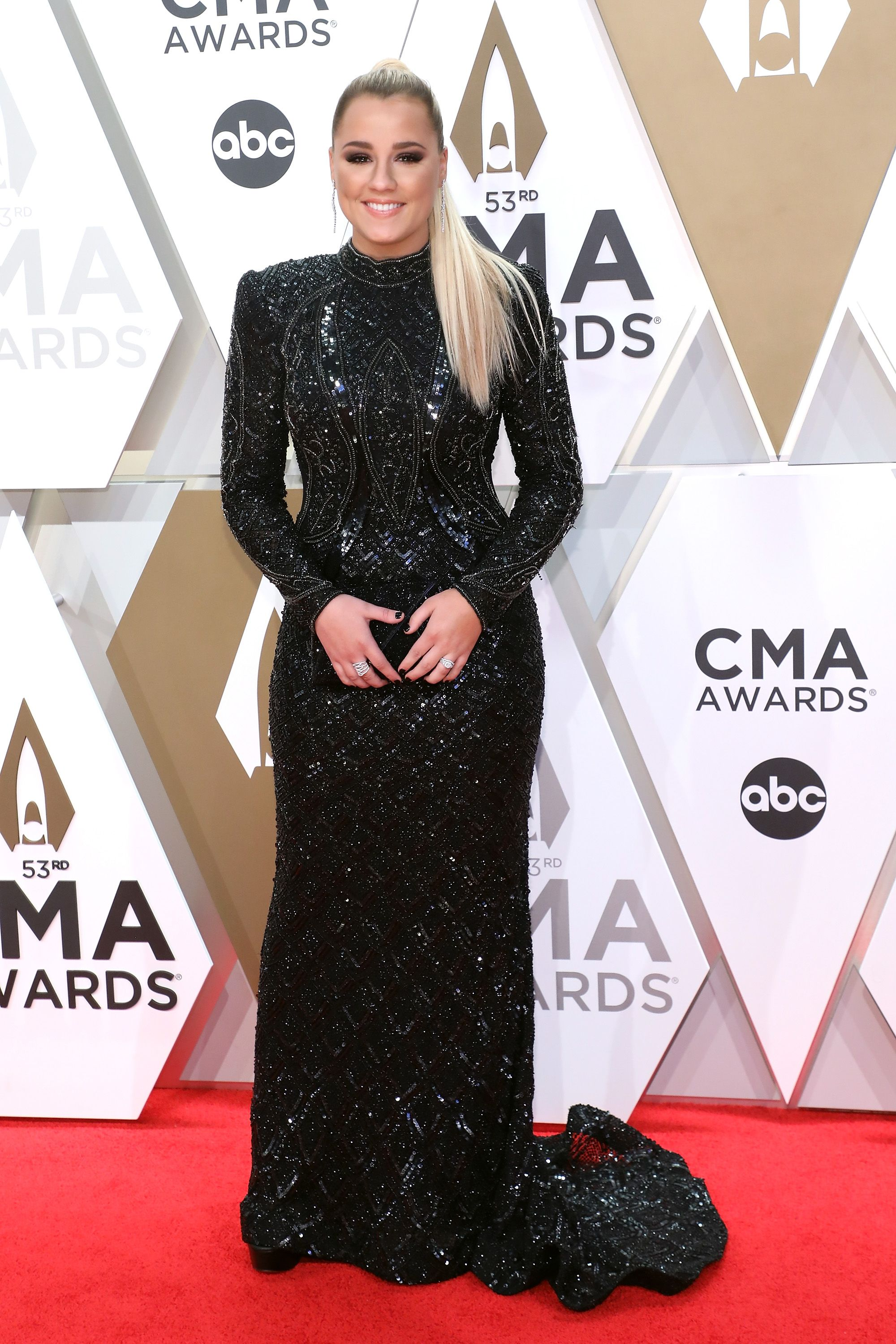Gabby Barrett during the 53nd annual CMA Awards at Bridgestone Arena on November 13, 2019 in Nashville, Tennessee. | Getty Images